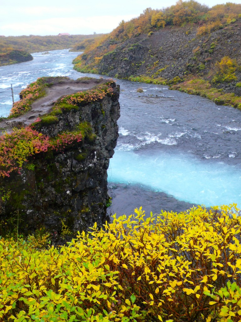 One of the many falls leading to Bruarfoss
