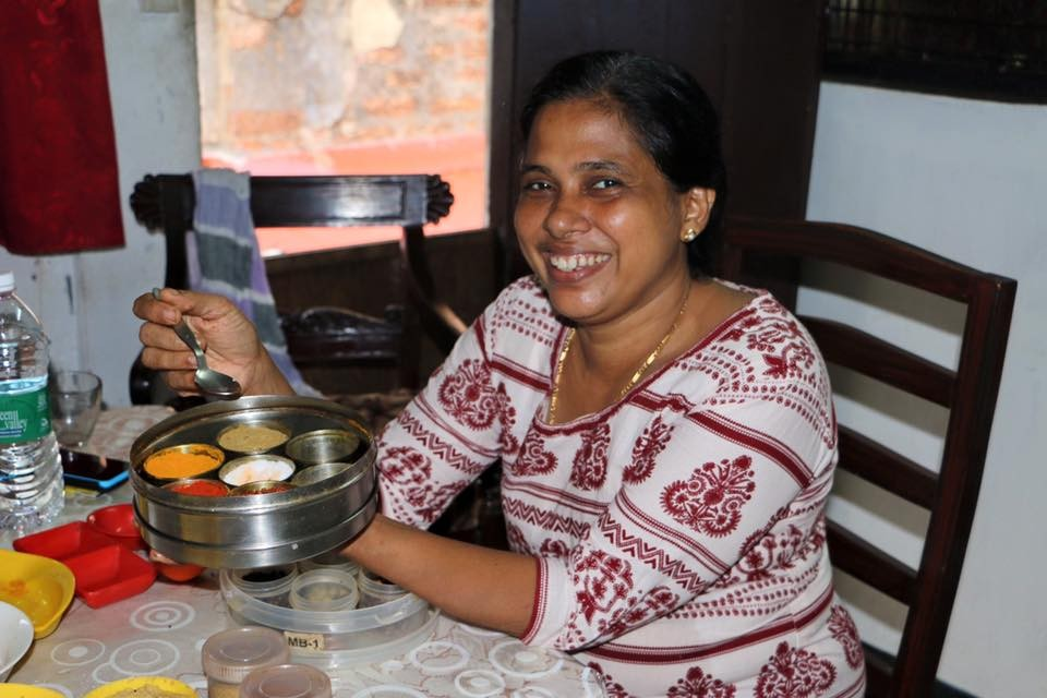 Cooking school with Maria in Kochi