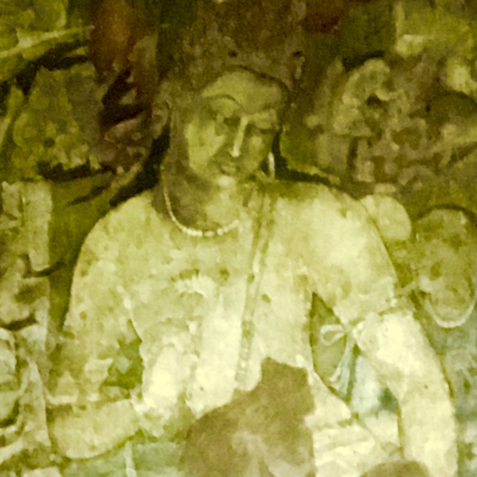 Cave painting at Ajanta