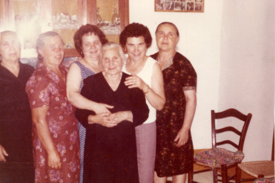 My mom and her sisters and their mother