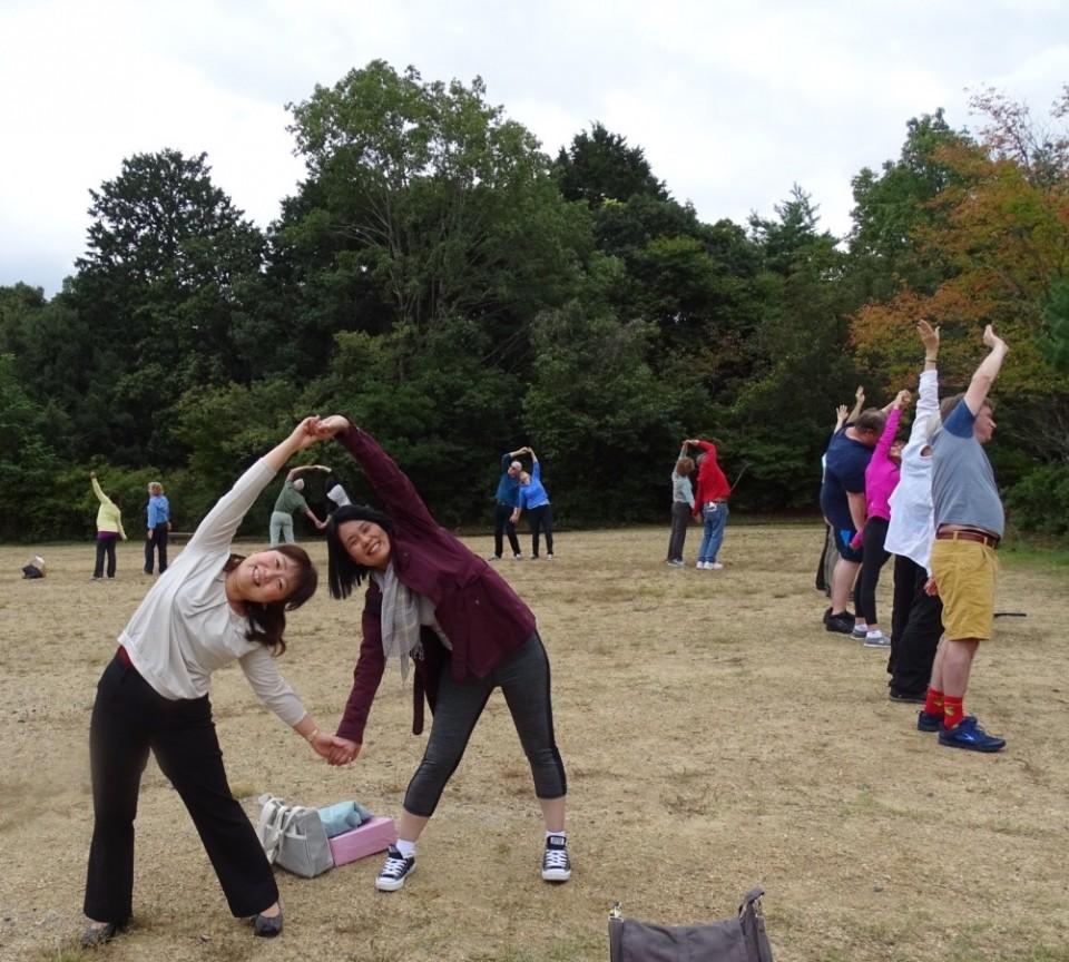 Our team magicians: Chiaki and Yukiko