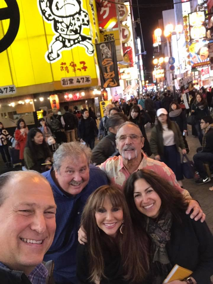 Last night in Osaka: Jeff, Kevin, Don, Karin, and Fran