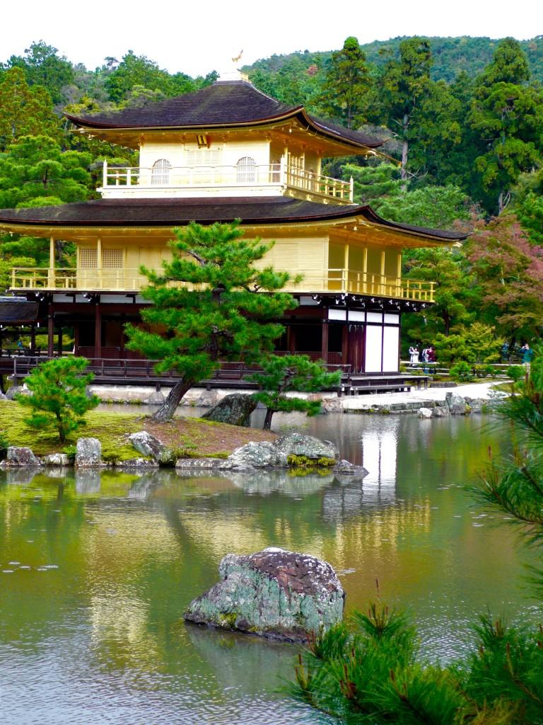 Kinkakuji Temple, Gold Temple!