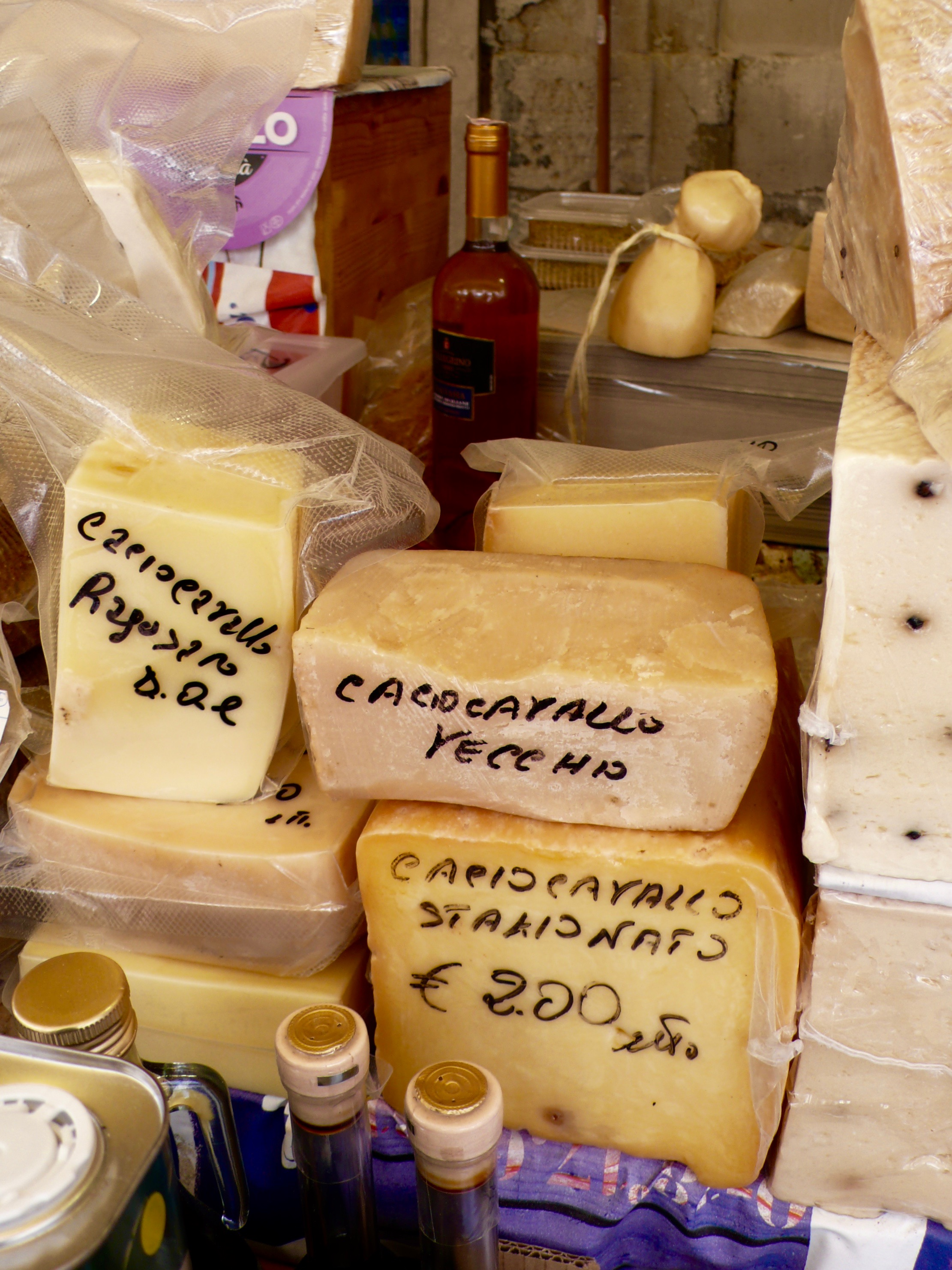 Cheese at the Siracusa Market