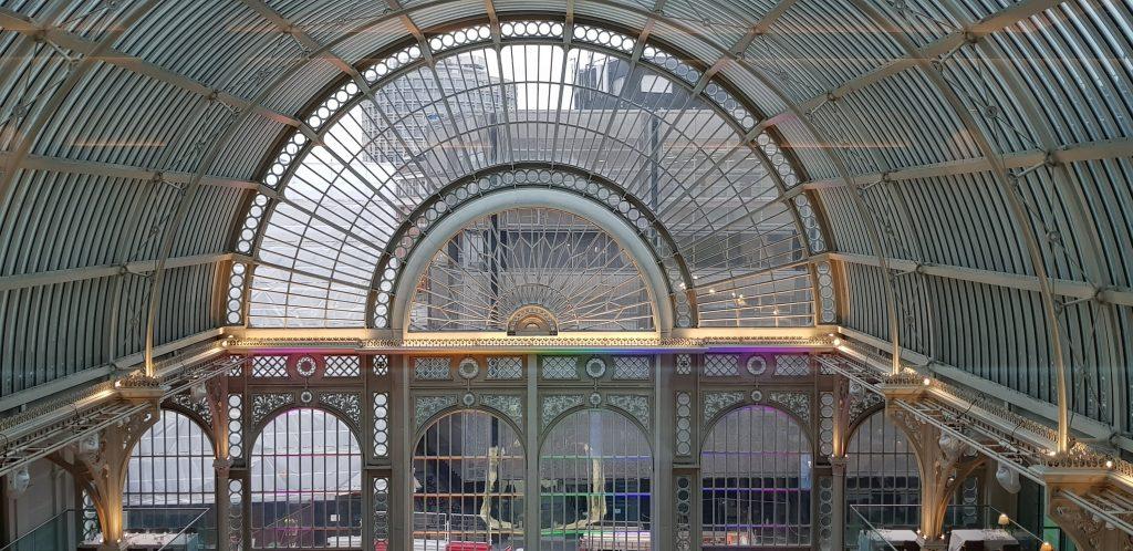 Windows view at The Royal Opera House