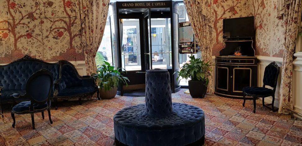 Inside the Grand Hotel de l'Opera in Toulouse
