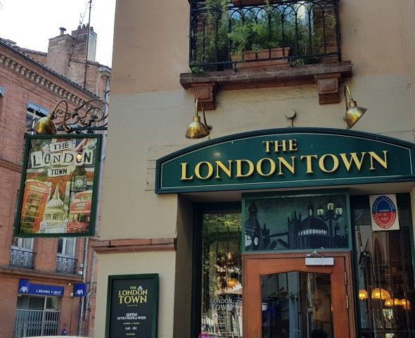 The London Town pub in Carmes in Toulouse