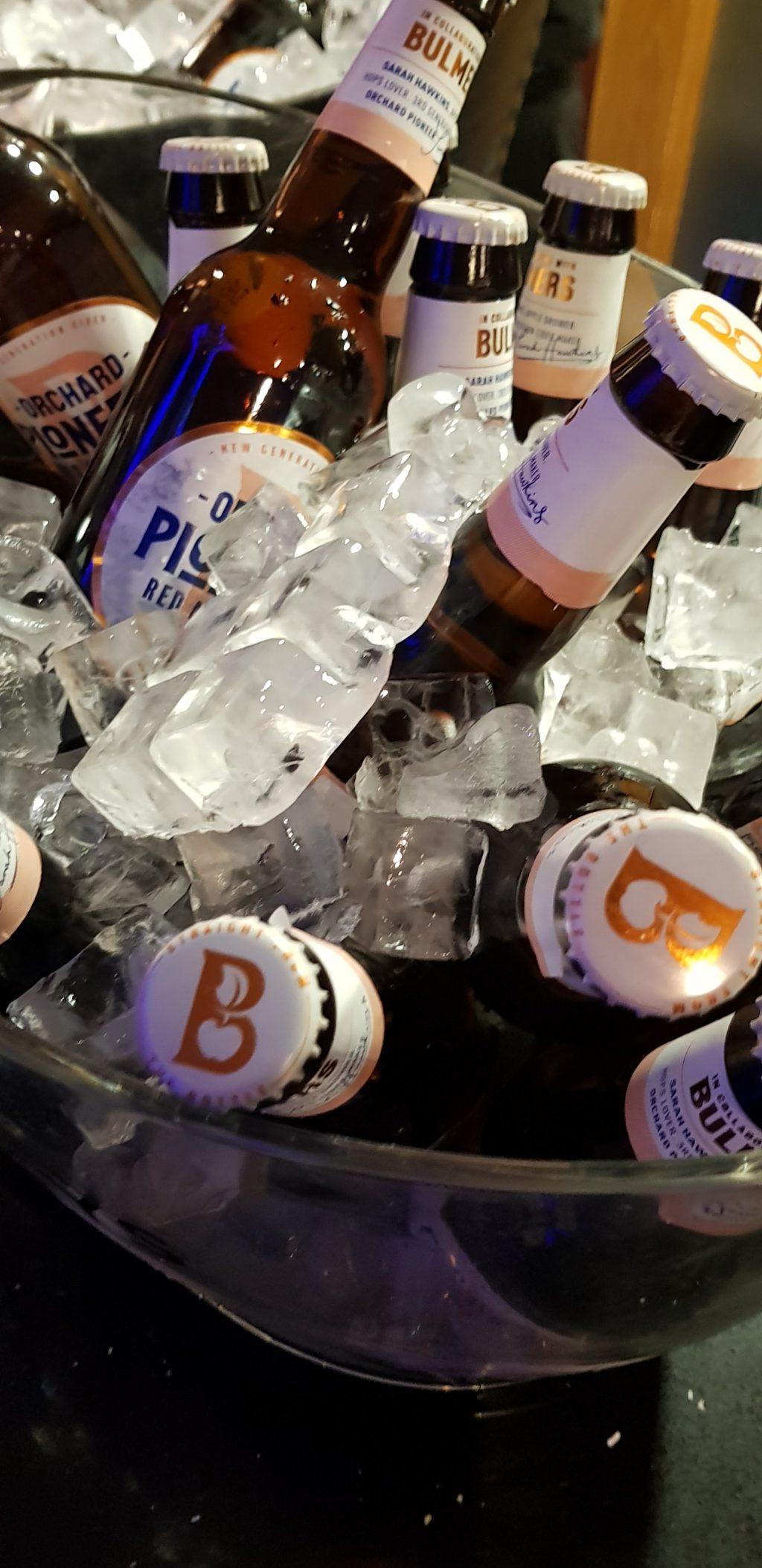 Cider at Happy Hour at Raindance