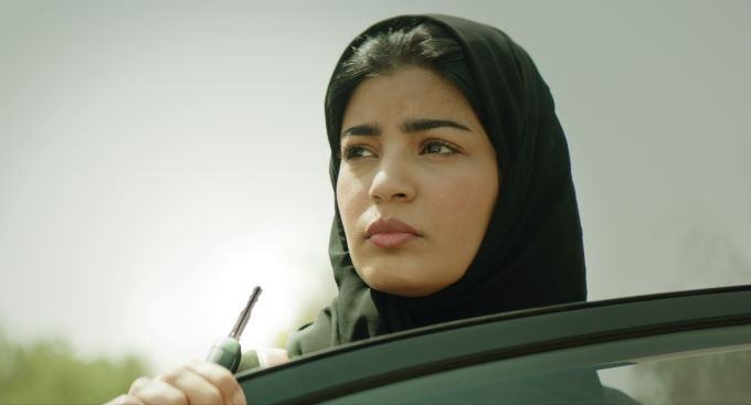Nora Al Awadh in The Perfect Candidate