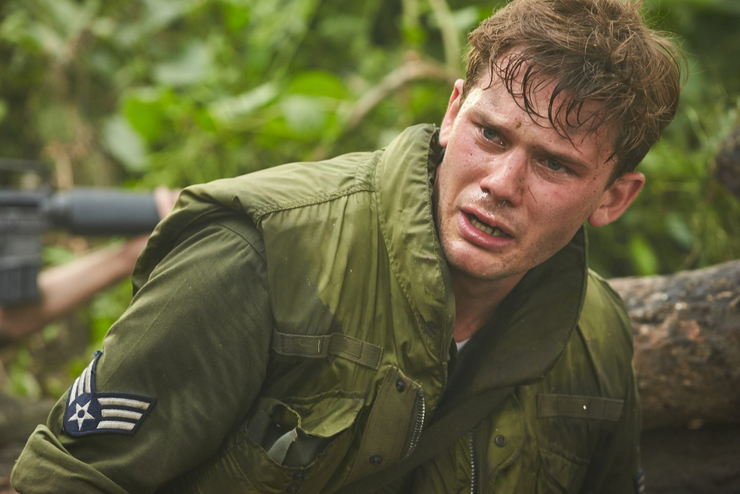 Jeremy Irvine as William Pitsenbarger in The Last Full Measure
