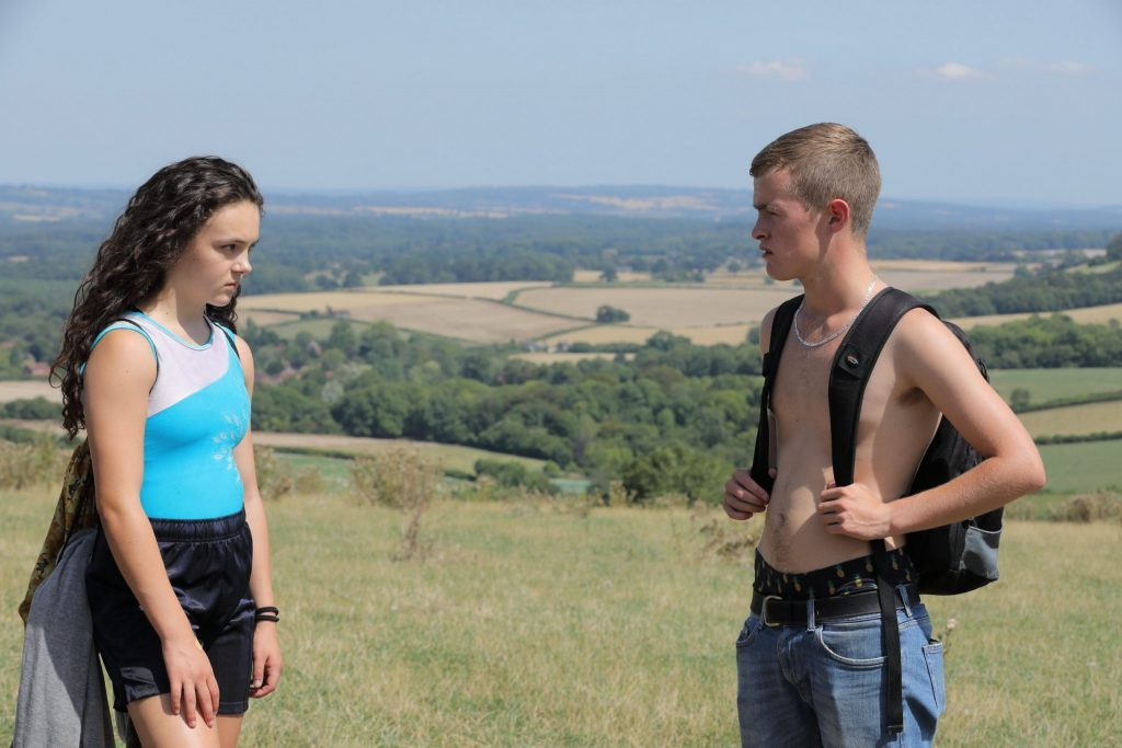 Frankie Box and Alfie Deegan as Leigh and Joe in Perfect 10
