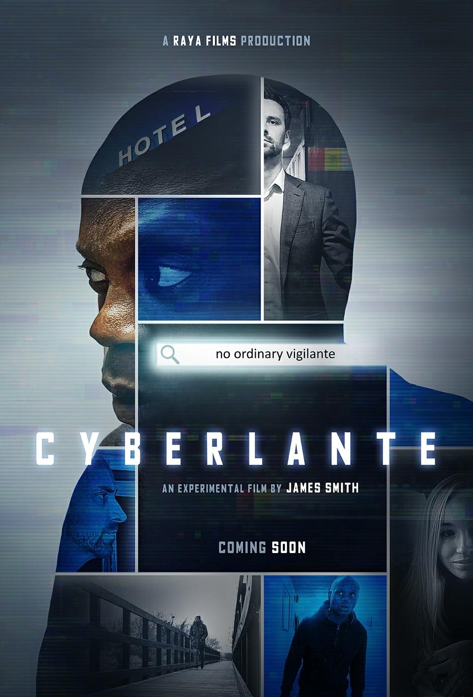 Cyberlante film poster (credit: David Ward)