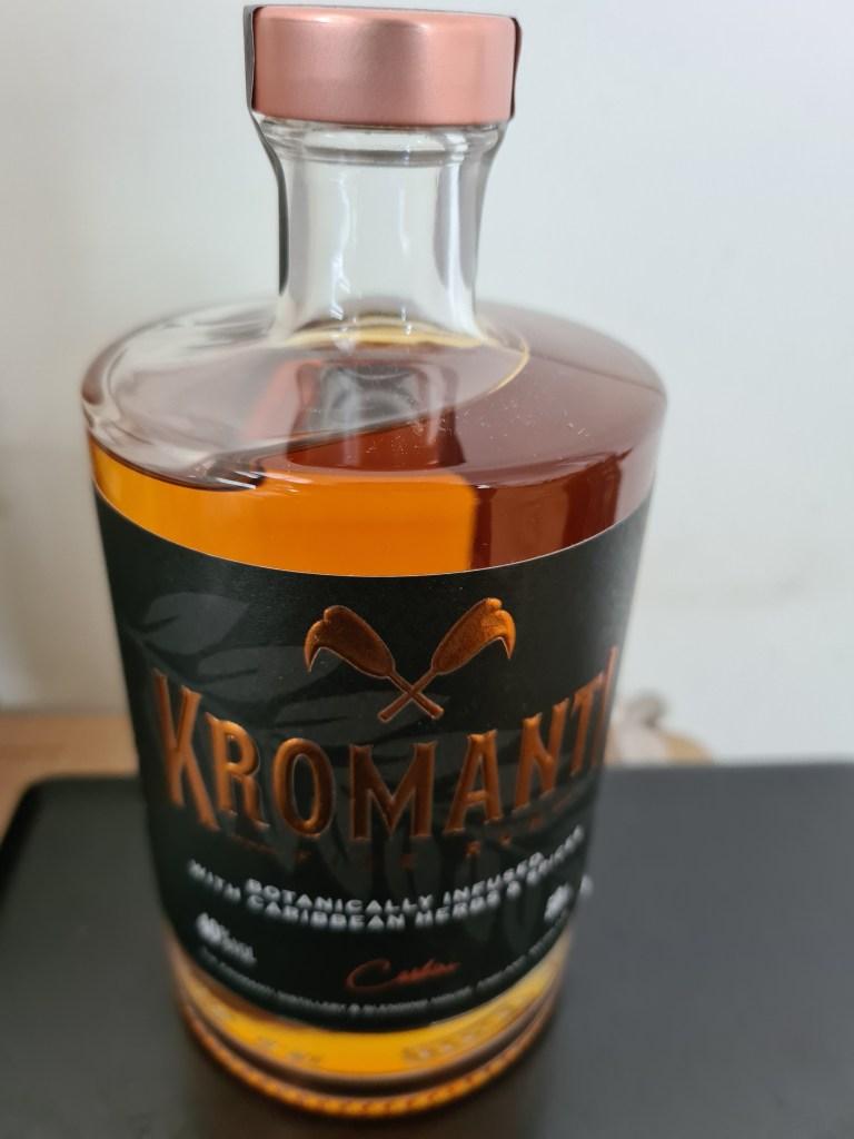 Bottle of Kromanti rum