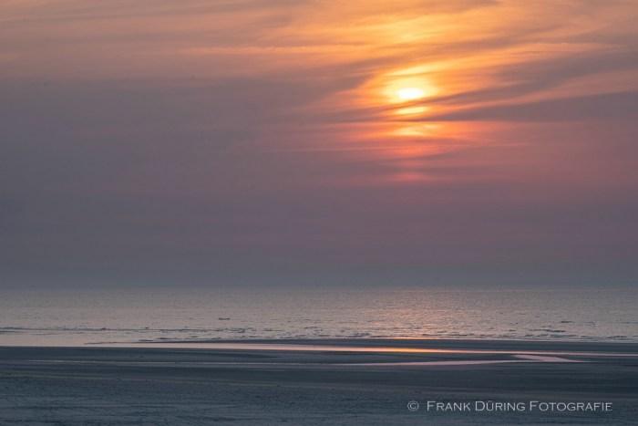 Abendsonne am Strand bei Buren, Ameland, NL