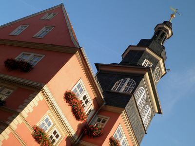 Rathaus mit Turm Eisenach