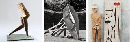 Bilder von Werken / Skulpturen Egon Stöckle