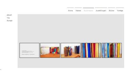 Website des Künstlers Hajo Düchting †