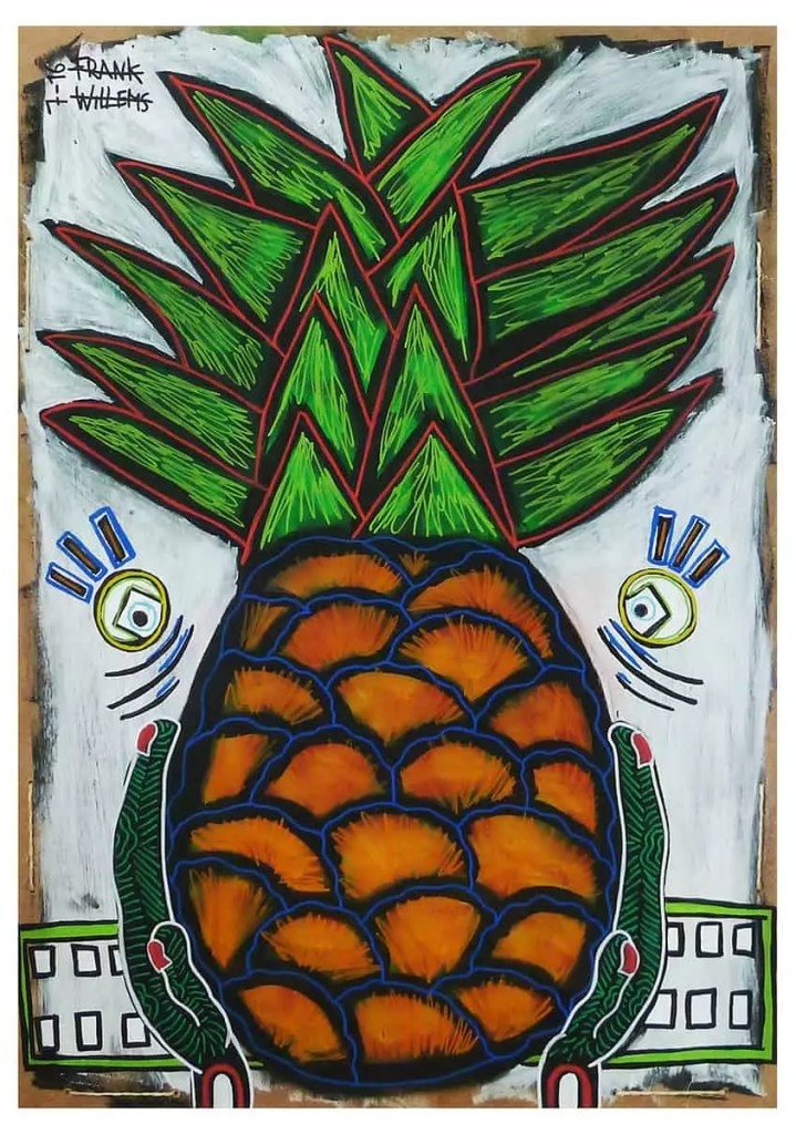 YUMMY PINEAPPLE - Frank Willems