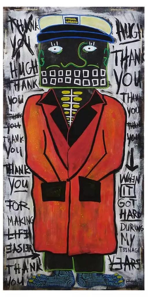THANK YOU HUGH - Frank Willems