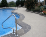 renovated pool deck surface