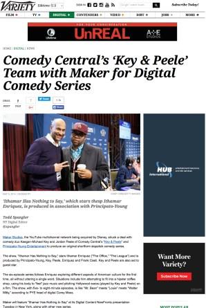 Key&PeeleTeamwithMaker