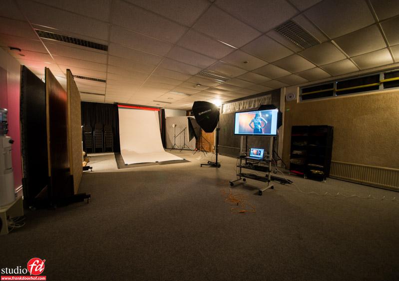 The shooting floor