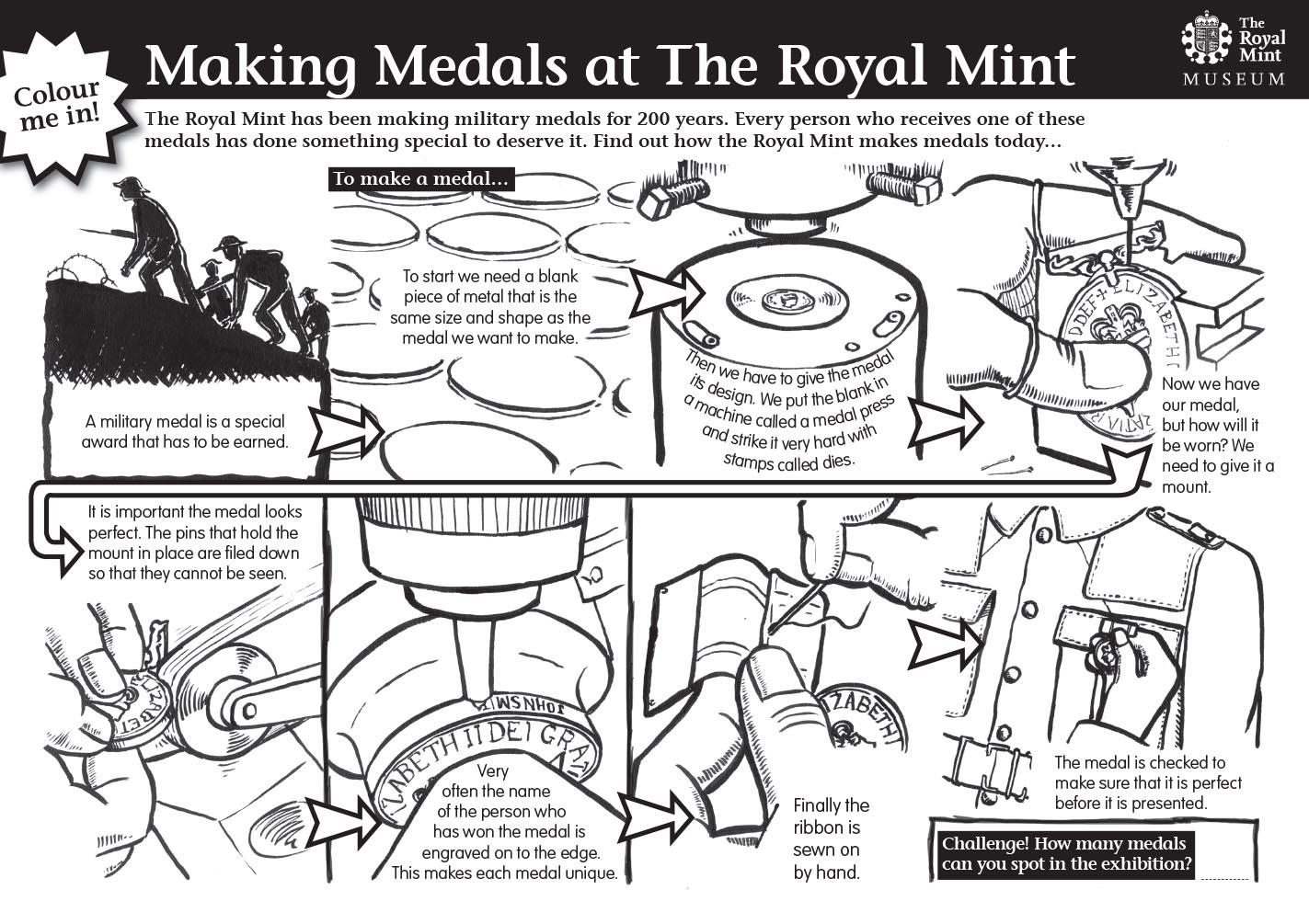 Royal Mint Educational Worksheet