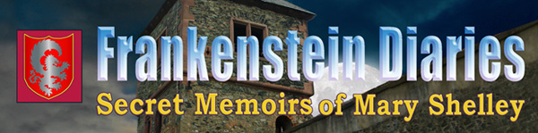 Frankenstein Diaries: Secret Memoirs of Mary Shelley - The Romantics Logo