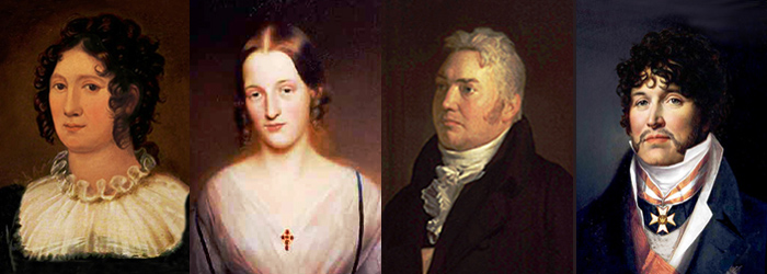 Characters Claire Clairmont, Fanny Imlay, Samual Coleridge, Travanet-Pury