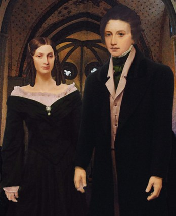 Mary Shelley and Percy ShelleyMarried Couple