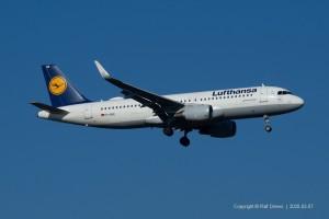 D-AIUE Lufthansa Airbus A320-214 | MSN 6092