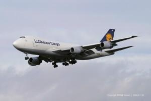 D-ABZB Lufthansa Cargo Boeing 747-230F | ln 625