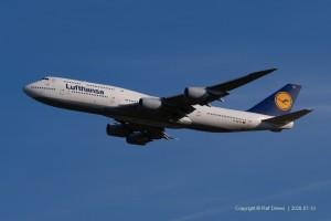 D-ABYO Lufthansa Boeing 747-830 | ln 1498