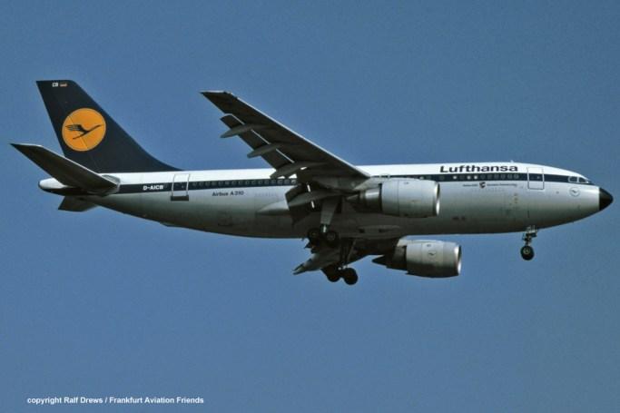 "D-AICB Lufthansa Airbus A310-203 (MSN 201) ""Garmisch-Partenkirchen"""