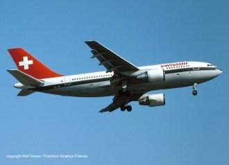 HB-IPD Swissair Airbus A310-221 (MSN 260)