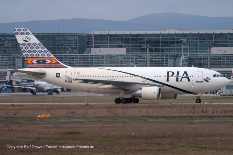 AP-BGS PIA Pakistan International Airlines Airbus A310-325(ET) (MSN 689)