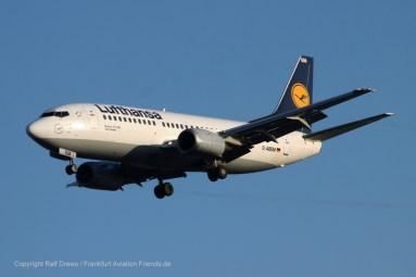 "D-ABEM Lufthansa Boeing 737-330 (sn 25416 / ln 2182) ""Eberswalde"""