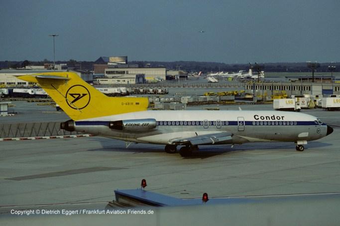 D-ABIR Condor Boeing 727-30 (sn 18933 / ln 185)