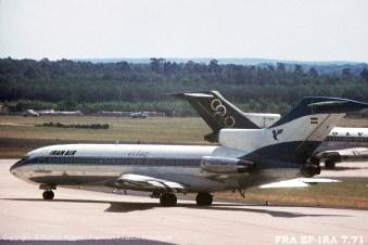 """EP-IRA Iran Air Boeing 727-86 (sn 19171 / ln 276) """"Isfahan"""""""