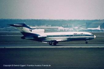 """EP-IRD Iran Air Boeing 727-86 (sn 19817 / 537) """"Shiraz"""""""