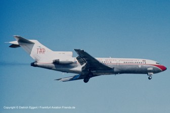 CS-TBO TAP Air Portugal Boeing 727-82C (sn 19968 / ln 660)
