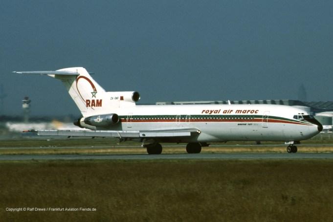 CN-RMP Royal Air Maroc Boeing 727-2B6 (sn 21298 / ln 1246)