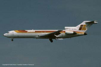 "EC-DDX Iberia Boeing 727-256 (sn 21779 / ln 1498) ""Monasterio de Poblet"""