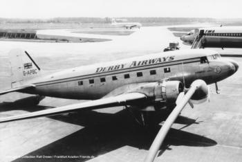 """Douglas C-47 G-APBC """"Derwent Dale"""" (sn 27121)"""