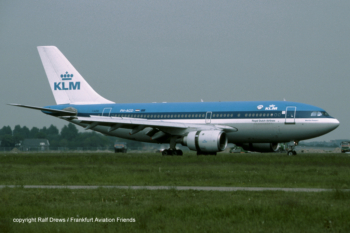 PH-AGD KLM Royal Dutch Airlines Airbus A310-203 (MSN 264)