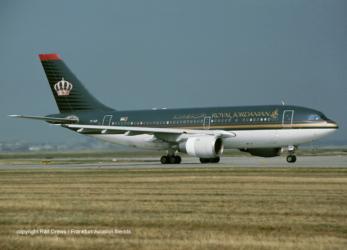 7T-VJF Royal Jordanian Airbus A310-203 (MSN 306)