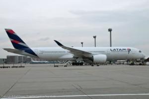 PR-XTD LATAM Airlines Brasil Airbus A350-941 (MSN 45)