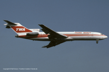 N54332 TWA Trans World Airlines Boeing 727-231 (sn 20210 / ln 802)