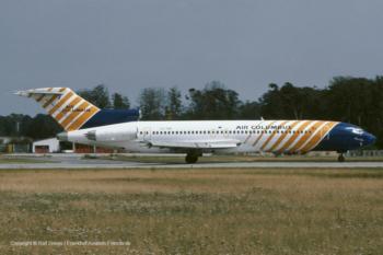 "CS-TKB Air Columbus Boeing 727-2J4 (sn 20764 / ln 960) ""João Gonçalves Zarco"""