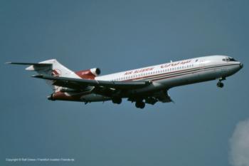 "7T-VEU Air Algerie Boeing 727-2D6 (sn 22373 / ln 1667) ""Djudjura"""